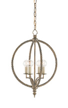 Marcello Chandelier, Small By Currey & Company
