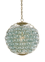 Pastiche Orb Chandelier By Currey & Company