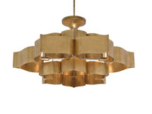 Grand Lotus Chandelier By Currey & Company