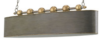 Stillman Oval Chandelier By Currey & Company