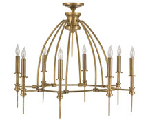 Adeline Chandelier By Currey & Company