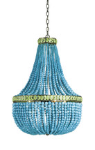 Hedy Chandelier By Currey & Company