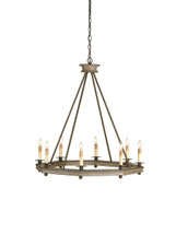 Bonfire Chandelier By Currey & Company