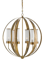 Agnes Orb Chandelier By Currey & Company