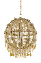 Tansy Orb Chandelier By Currey & Company