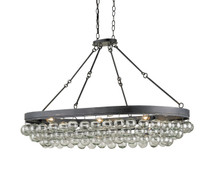 Balthazar Oval Chandelier By Currey & Company