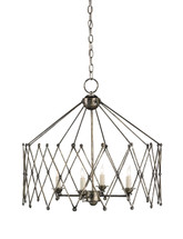 Accordion Chandelier By Currey & Company