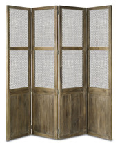 Cranbourne Folding Screen By Currey & Company