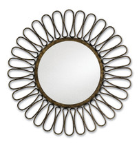 Roulette Mirror By Currey & Company