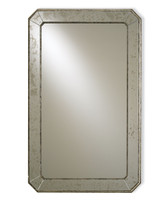 Antiqued Wall Mirror By Currey & Company