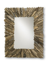 Beachhead Mirror By Currey & Company