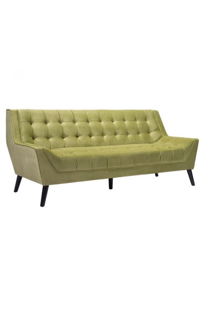 Groovy Nuntucket Sofa In Green Velvet By Zuo Modern Laurel At Andrewgaddart Wooden Chair Designs For Living Room Andrewgaddartcom