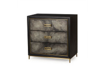 Levi 3 Drawer Nightstand