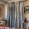 100% Silk drapes (shown in dove grey) exclusively for LAUREL AT SUNSET.  Priced per panel. Dry clean only.