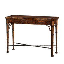 The Edwardian Bamboo Console by Theodore Alexander