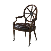 Radial Chair by Theodore Alexander