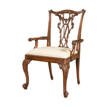 Seated in Rococo Splendour Armchair by Theodore Alexander