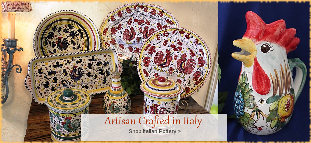 BellaSoleil.com - Italian Pottery Italian Ceramics  | FREE Shipping, No Sales Tax | BellaSoleil.com Tuscan Decor Since 1996