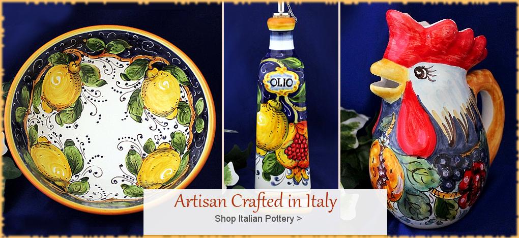 BellaSoleil.com - Italian Pottery, Tuscan, Mediterranean Style Italian Ceramics | FREE Shipping, No Sales Tax | BellaSoleil.com Tuscan Decor Since 1996