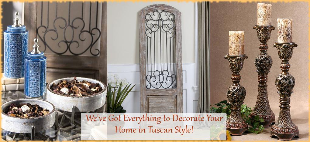 BellaSoleil.com Tuscan Home Decor Italian Pottery Mediterranean Style Home Decor | FREE Shipping, No Sales Tax | BellaSoleil.com Tuscan Decor Since 1996