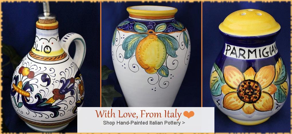 Italian Deruta Pottery, Italian Ceramics, Tuscan Decor, FREE Shipping | BellaSoleil.com Tuscan Decor Since 1996