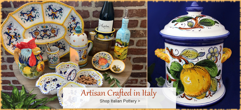 BellaSoleil.com Italian Pottery Italian Ceramics Sale | FREE Shipping, No Sales Tax | BellaSoleil.com Tuscan Decor Since 1996