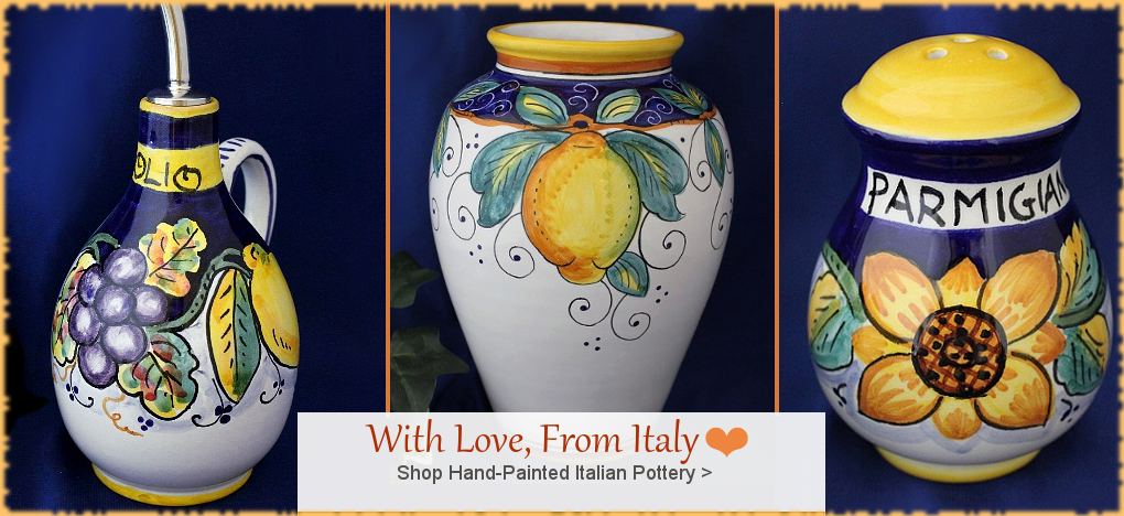 BellaSoleil.com - Italian Pottery Italian Ceramics | Farmhouse, Tuscan, Mediterranean Style Home Decor | FREE Shipping, No Sales Tax | BellaSoleil.com Tuscan Decor Since 1996