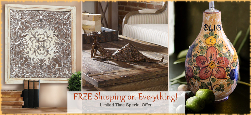 Tuscan Decor Italian Pottery | FREE Shipping SALE | No Sales Tax | BellaSoleil.com Tuscan Decor Since 1996