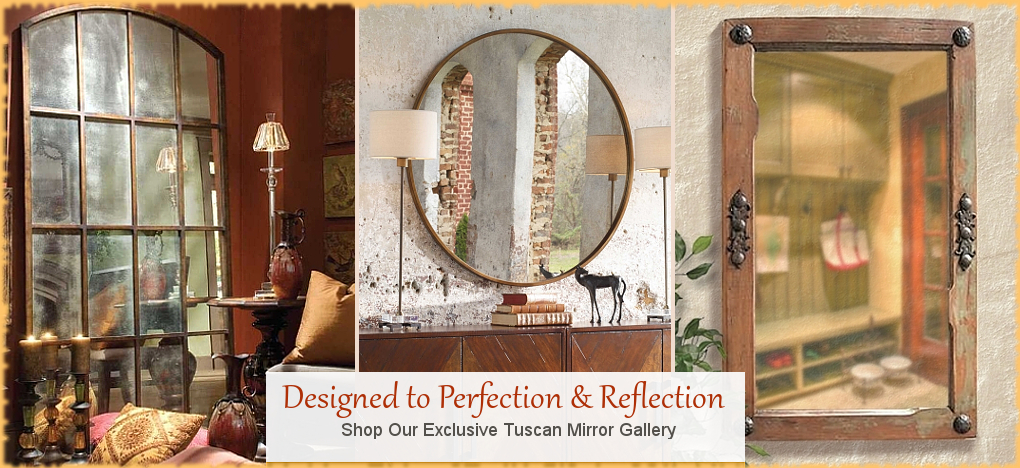 Uttermost Mirrors   FREE Shipping, No Sales Tax   BellaSoleil.com Tuscan Decor Since 1996