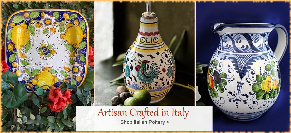 BellaSoleil.com - Italian Pottery, Italian Ceramics | FREE Shipping, No Sales Tax | BellaSoleil.com Tuscan Decor Since 1996