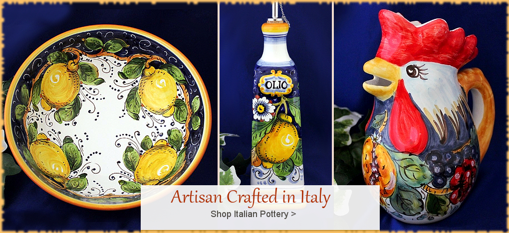 BellaSoleil.com Italian Pottery Tuscan Home Decor   Free Shipping, No Sales Tax   BellaSoleil.com Tuscan Decor Since 1996