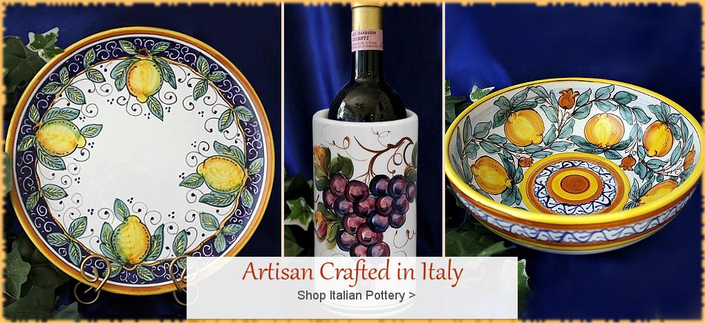 BellaSoleil.com - Italian Pottery Italian Ceramics FREE Shipping Sale   BellaSoleil.com Tuscan Decor Since 1996