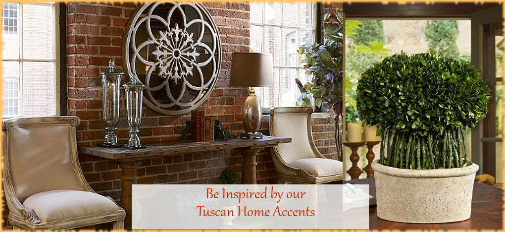 BellaSoleil.com Tuscan Home Decor Tuscan Home Accents | FREE Shipping, No Sales Tax | BellaSoleil.com Tuscan Decor Since 1996