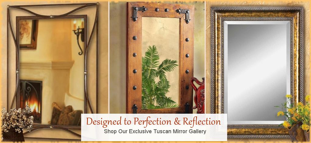 BellaSoleil.com - Tuscan Style Mirrors | FREE Shipping, No Sales Tax | BellaSoleil.com Tuscan Decor Since 1996