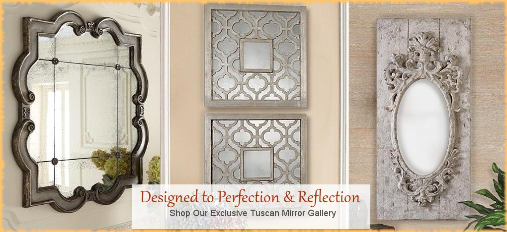 BellaSoleil.com - Tuscan, Mediterranean Style Mirrors | FREE Shipping, No Sales Tax | BellaSoleil.com Tuscan Decor Since 1996
