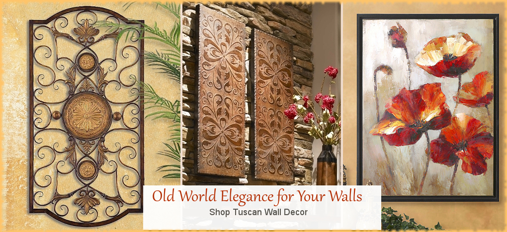 BellaSoleil.com Tuscan Wall Decor FREE SHIPPING SALE | BellaSoleil.com Tuscan Decor Since 1996