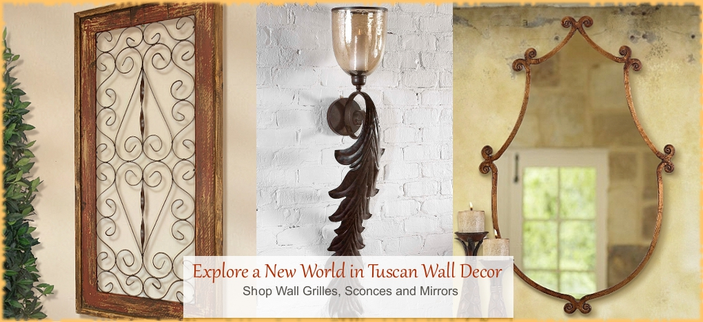 BellaSoleil.com - Tuscan Style Wall Decor | FREE Shipping, No Sales Tax | BellaSoleil.com Tuscan Decor Since 1996