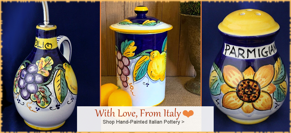 BellaSoleil.com - Italian Pottery, Tuscan, Mediterranean Style Home Decor | FREE Shipping, No Sales Tax | BellaSoleil.com Tuscan Decor Since 1996