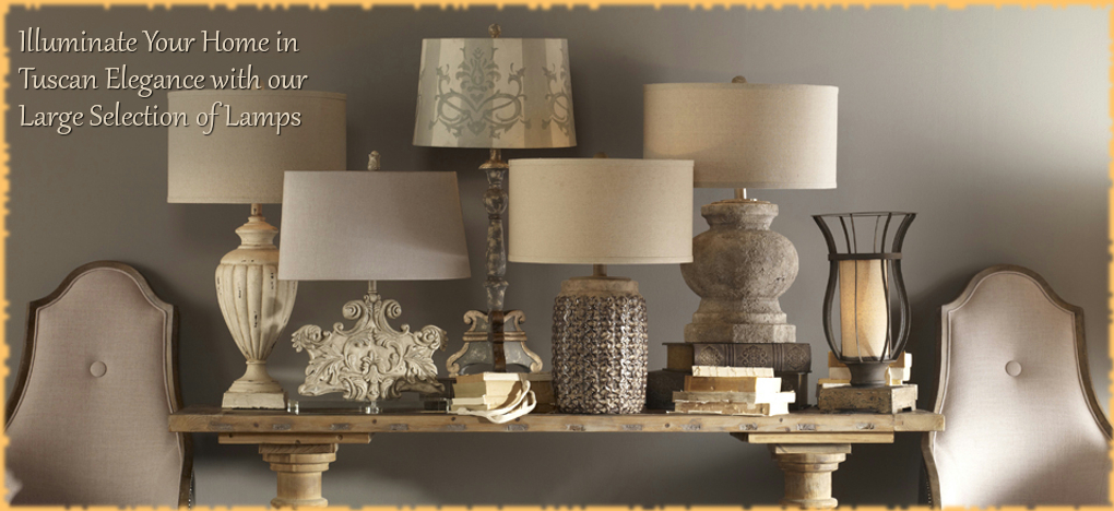 BellaSoleil.com - Tuscan, Mediterranean Style Lamps | FREE Shipping, No Sales Tax | BellaSoleil.com Tuscan Decor Since 1996