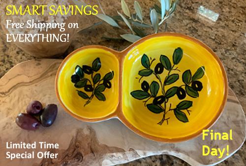 Tuscan Decor Italian Pottery FREE Shipping Sale | BellaSoleil.com Tuscan Decor Since 1996
