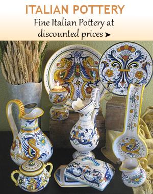 Fine Italian Pottery From Tuscany Deruta Vietri Florence Sicily