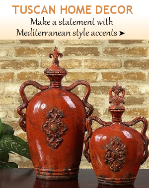Tuscan Home Decor | BellaSoleil.com Tuscan Decor And Italian Pottery ...