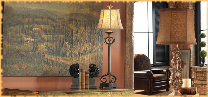 Tuscan Lamps & Lighting Sale