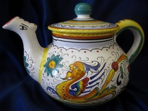 Deruta Raffaellesco Teapot
