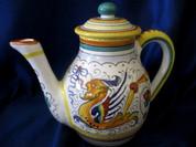 Deruta Teapot Coffee Pot