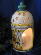 Deruta Candle Holder Lantern