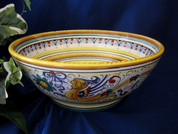 Deruta Pasta Serving Bowl
