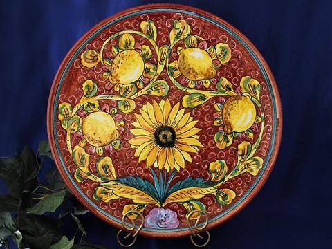 Tuscan Sunflower Serving Platter, Tuscan Sunflower Plate