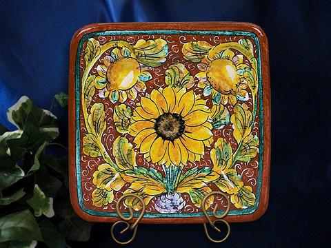 Tuscan Sunflower Plate Platter