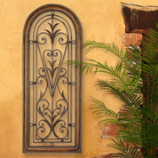 Tuscan Arch Window Wall Decor